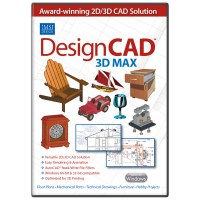 DesignCAD 3D Max v25 Upgrade from v24-22 Thumbnail