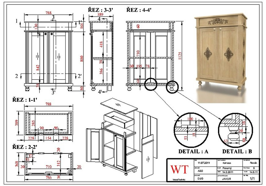 turbocad drawing template - turbocad furniture maker v16