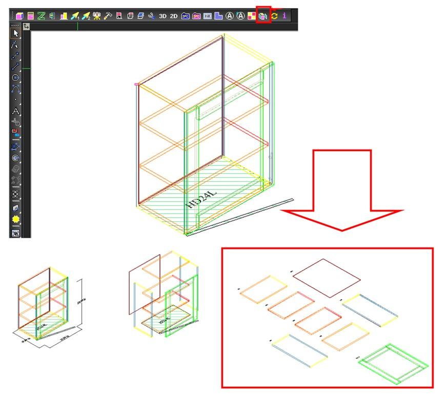 . TurboCAD Furniture Maker v16