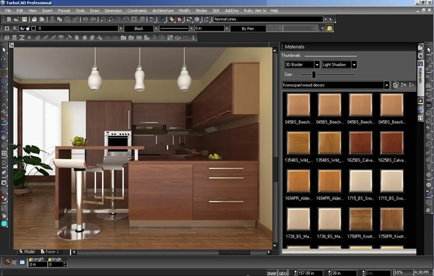 TurboCAD Furniture Maker V16