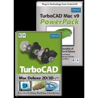TurboCAD Mac Deluxe v9 & PowerPack Bundle Thumbnail