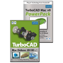 TurboCAD Mac Deluxe v9 & PowerPack Bundle