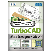 TurboCAD Mac Designer 2D v9 Thumbnail