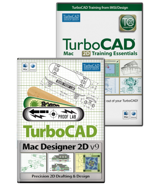 TurboCAD Mac Designer 2D v9 Bundle