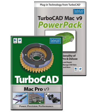 TurboCAD Mac Pro 9 & PowerPack Bundle