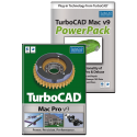 TurboCAD Mac Pro v9 & PowerPack Bundle
