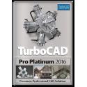 TurboCAD Pro Platinum 2016 Upgrade from Pro / Platinum v20