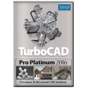 TurboCAD Pro Platinum 2016 Upgrade from Pro / Platinum v19-17