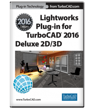 LightWorks Plug-in for TurboCAD Deluxe 2016