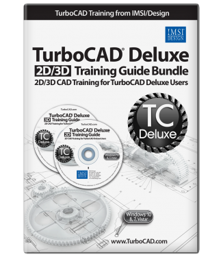2D/3D Training Guides for TurboCAD Deluxe 2016