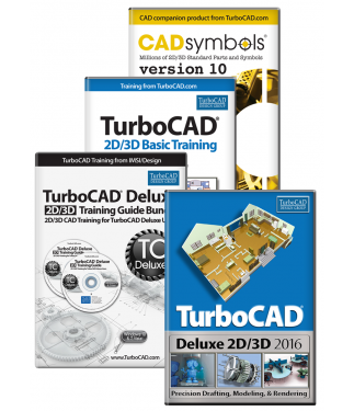 TurboCAD Deluxe 2016 Upgrade Bundle