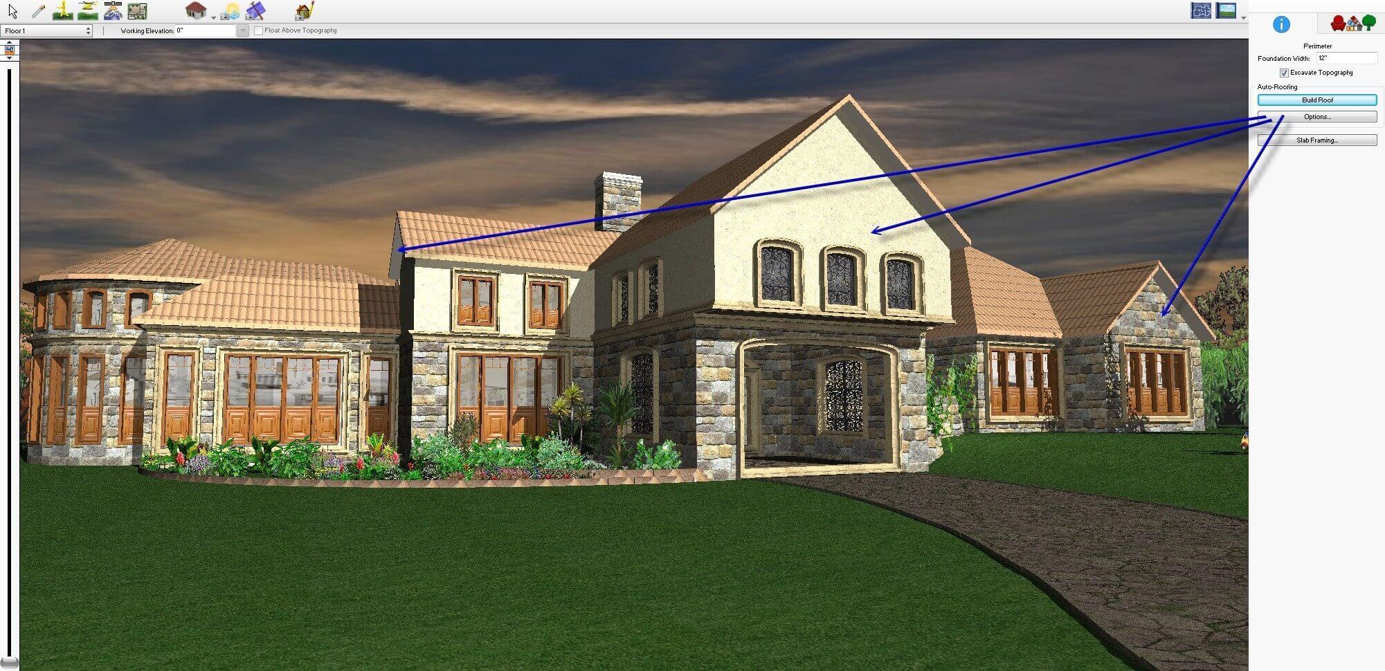 Tutorial turbofloorplan home landscape pro floor matttroy for Punch home landscape design professional v19 crack