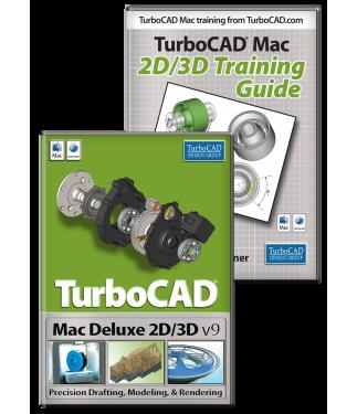 Turbocad Mac Deluxe V9 and Training Bundle