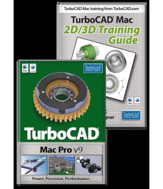 Turbocad Mac Pro V9 and Training Bundle