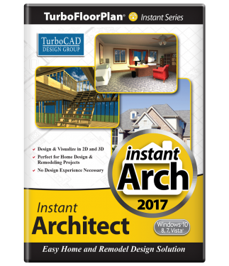 TurboFloorPlan Instant Architect 2017