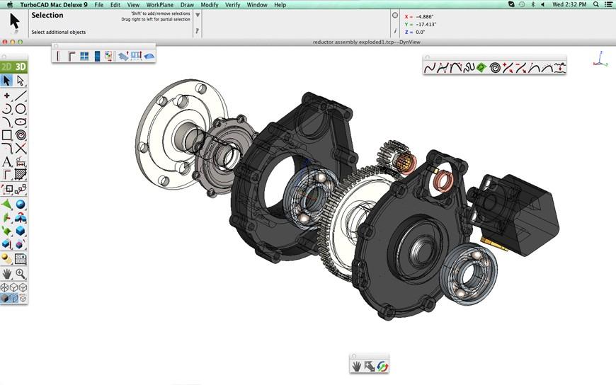 TurboCAD Mac Deluxe 2D/3D