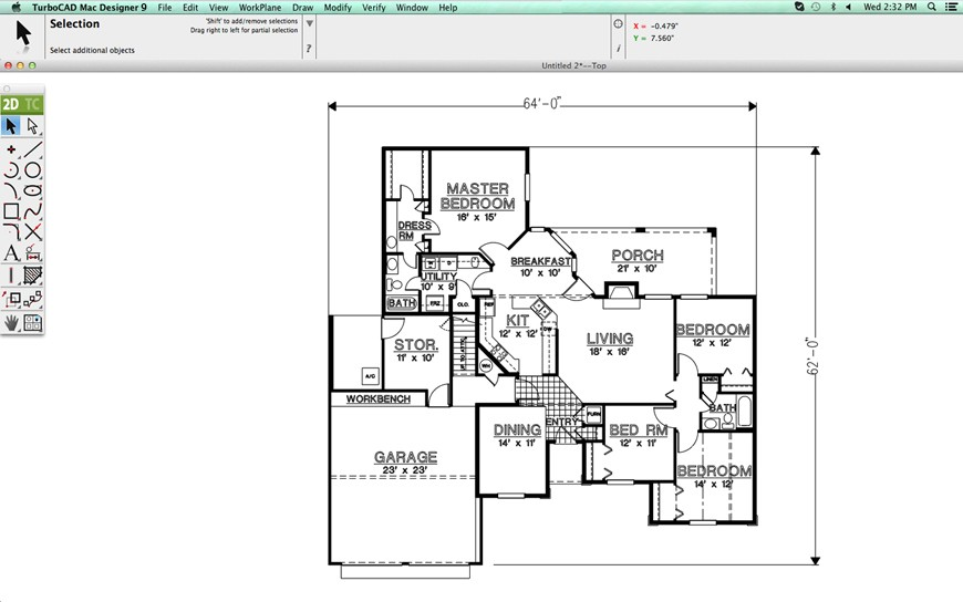 turbocad - Home Design 2d