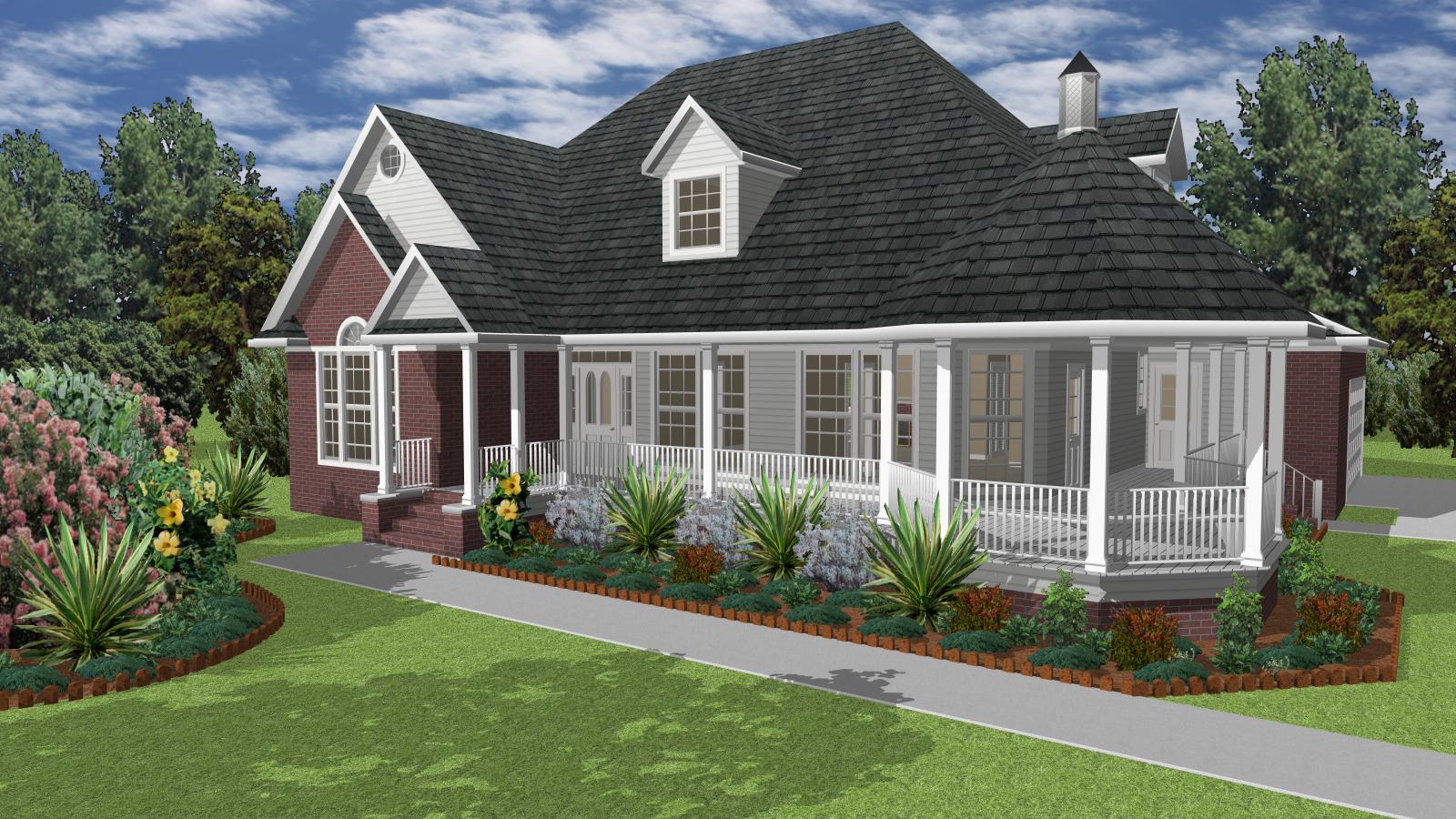 TurboFloorPlan Home  Landscape Deluxe Mac - Total 3d home design deluxe