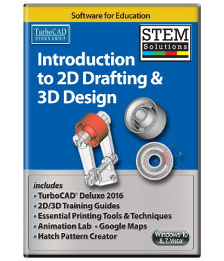 STEM Solutions for Education: Introduction to 2D Drafting & 3D Design