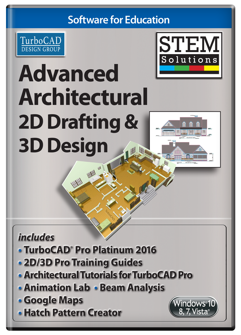 3d Home Architect Design Deluxe 8 Tutorial Stem Solutions Advanced  Architectural 2d Drafting And 3d Design