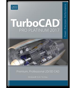 TurboCAD Pro Platinum 2017 Upgrade from Pro/Pro Platinum 2016