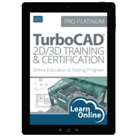 TurboCAD Pro 2D/3D Training and Certification Thumbnail
