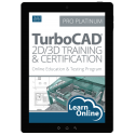 TurboCAD Pro 2D/3D Training and Certification