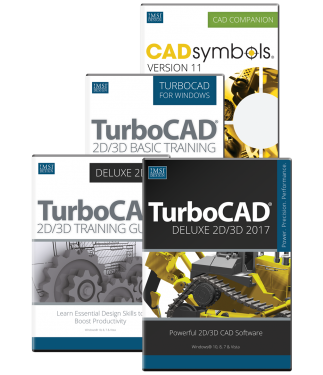 TurboCAD Deluxe 2017 Upgrade Bundle