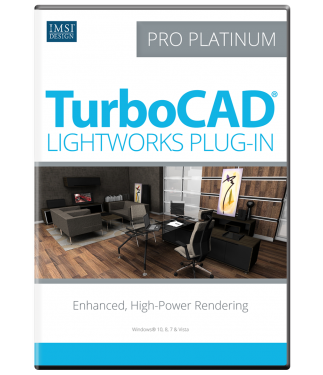 LightWorks Plug-in for TurboCAD Pro/Pro Platinum 2017