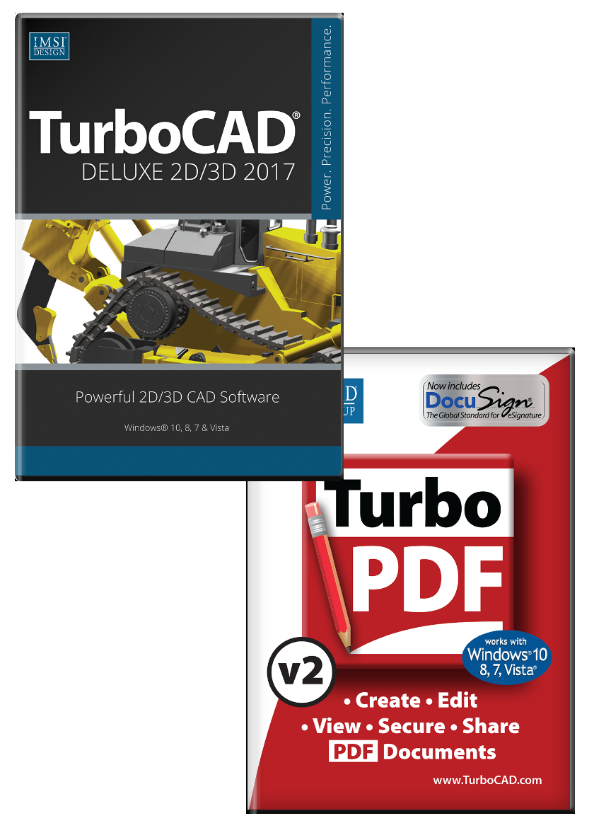 Turbocad 15 deluxe traning bundle tes branche level 3 for Turbocad templates free