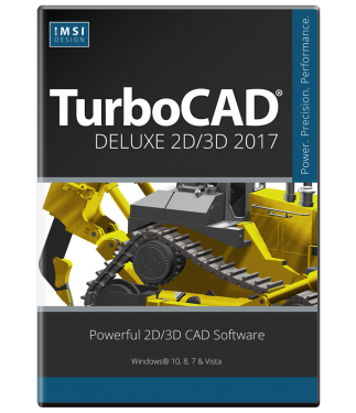 TurboCAD Deluxe 2017 Upgrade from Deluxe 2015 or 2016