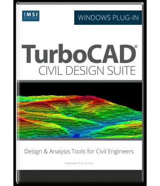Civil Design Suite For Turbocad 2018