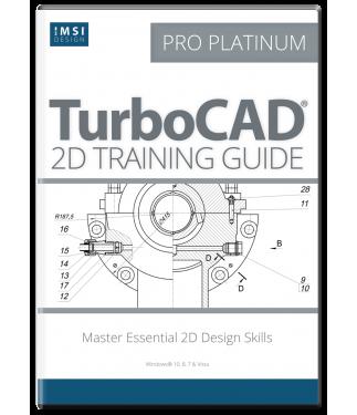 2D Training Guide for TurboCAD Pro Platinum 2017