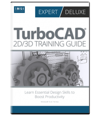 2D/3D Training Guide Bundle for TurboCAD 2017 (Deluxe & Expert)