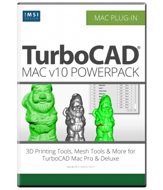 TurboCAD Mac v10 PowerPack