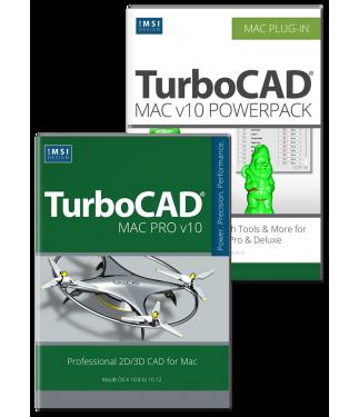 TurboCAD Mac Pro v10 & PowerPack Bundle