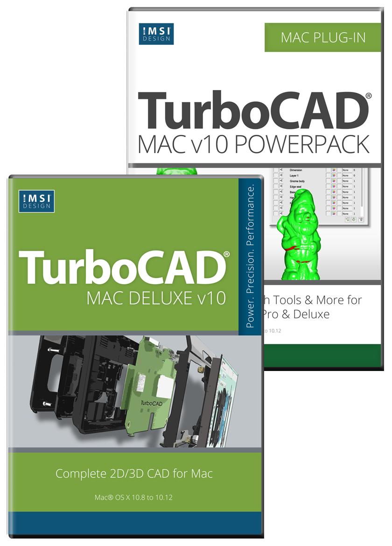 Turbocad Mac Deluxe Powerpack Bundle Electrical Schematic Cad