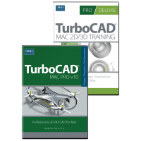 TurboCAD Mac Pro V10 and Training Bundle Thumbnail