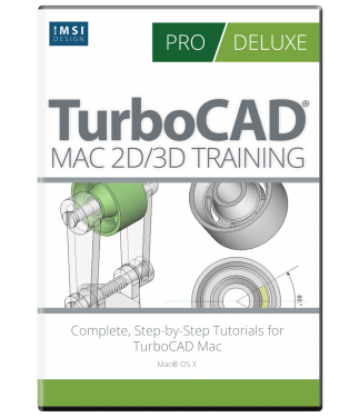 TurboCAD 2D/3D Training Guides For TurboCAD Mac