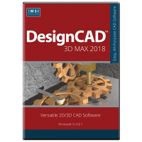 DesignCAD 3D Max 2018 (Upgrade From v23,... Thumbnail