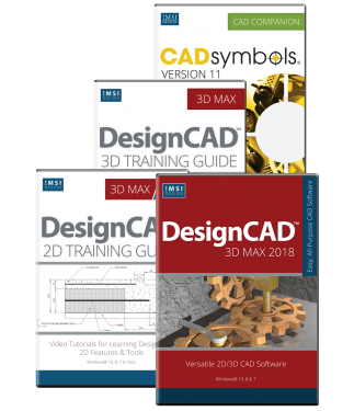 DesignCAD 3D Max 2018 Upgrade Bundle