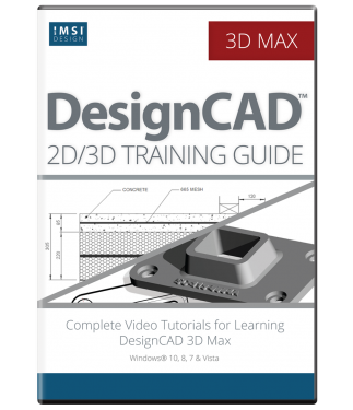 2D/3D Computer Aided Design with DesignCAD Bundle