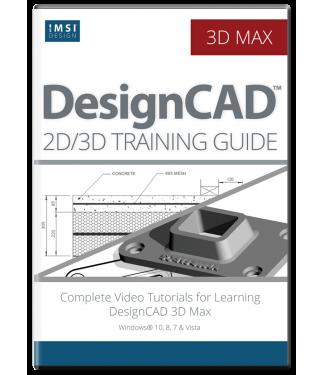 2D/3D Computer Aided Design with DesignCAD Bundle