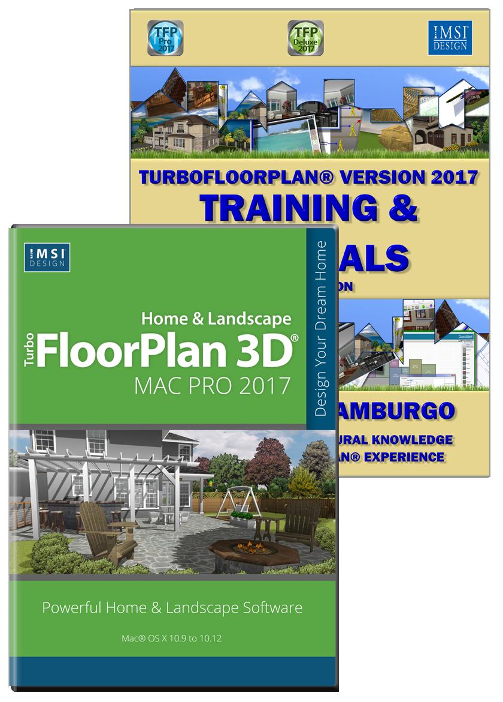 Turbofloorplan Pro 2017 Mac Amp Training Bundle