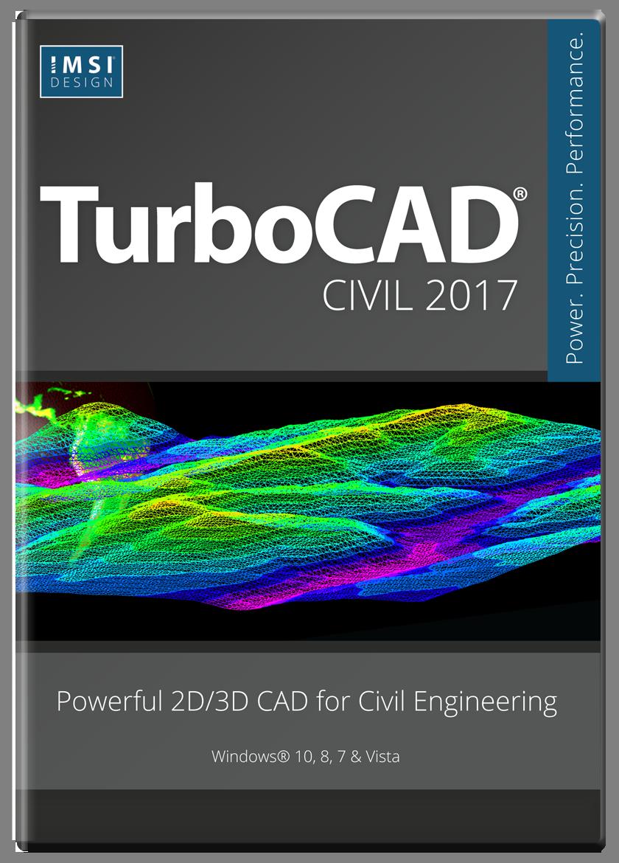TurboCAD Civil 2017