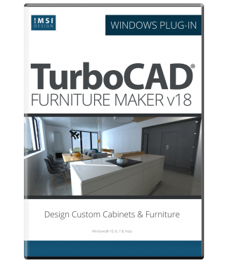 TurboCAD Furniture Maker v18