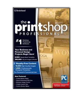 Print Shop Professional v4