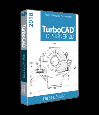 TurboCAD Designer 2018 Upgrade from TurboCAD Designer 2016 or earlier