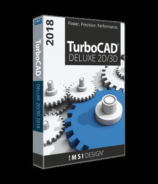 TurboCAD Deluxe 2018 Legacy Upgrade - pre v20, TC Designer v20+