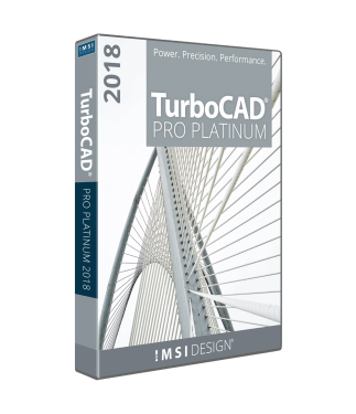 TurboCAD Pro Platinum 2018 Annual Subscription